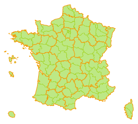 France : R�gions